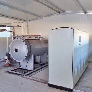 山东振龙化工厂-8KG氧气源污水处理现场